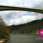 Bungee jumping ve dvou jako zážitek