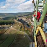 Bungee jumping z věže ve dvou jako zážitek