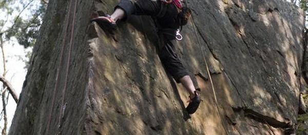 Jednodenní kurz lezení na skalách