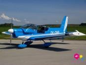 Let akrobatickým letadlem Zlín Z-142