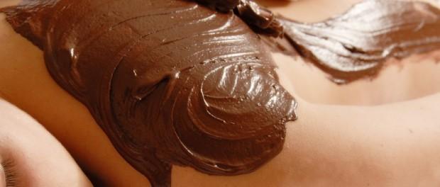 Masáž horkou čokoládou