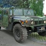 Projížďka ve vojenském Hummeru jako zážitek
