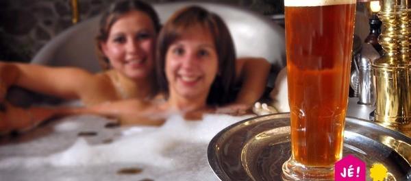 Relax v pivních lázních