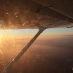 Romantický let letadlem pro dva jako zážitek