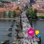 Vyhlídkový let nad centrem Prahy pro 3 osoby jako zážitek