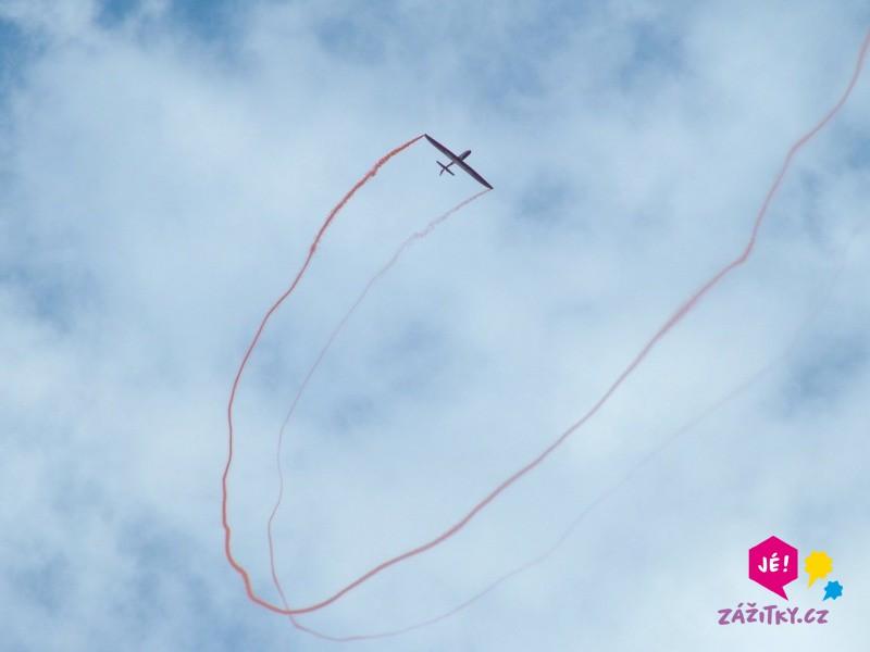 Akrobatický let větroněm jako zážitek