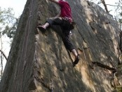 Dvoudenní kurz lezení na skalách