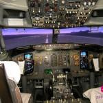 Pilotem dopravního letadla Boeing 737 jako zážitek