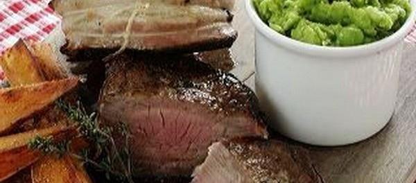 Šťavnatý steak a Ratatouille