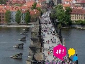 Vyhlídkový let nad centrem Prahy pro 3 osoby
