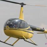 Vyhlídkový let vrtulníkem Robinson jako zážitek